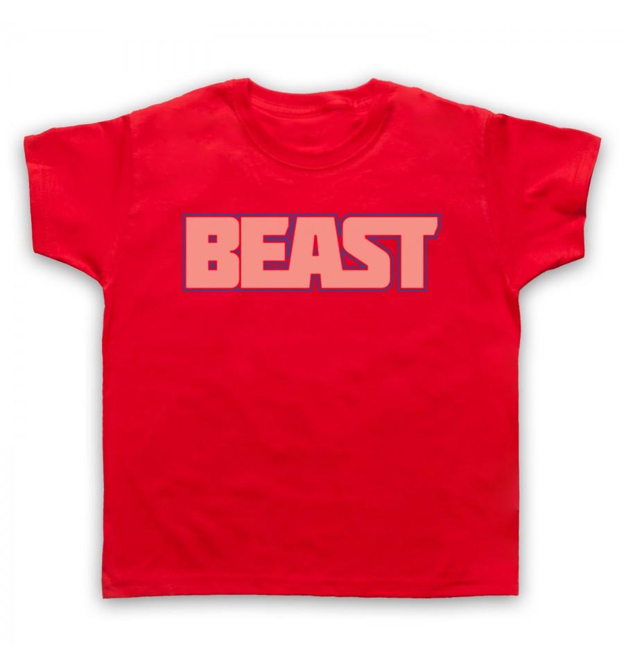 Beast Gym Slogan Kids Clothing
