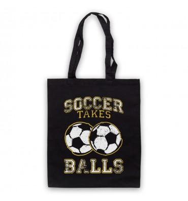 Soccer Takes Balls Tote Bag